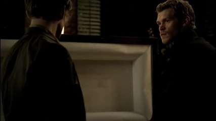 The Vampire Diaries 03x13 - Bringing out the dead - Klaus and Elijah fight