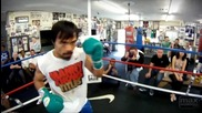 Manny Pacquiao In The Ring
