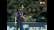 Messi 4 - 1 Arsenal 06.04.10