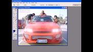 Kak da svetnem farovete na kola s Photoshop