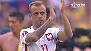 Полска радост след края на мача, украинците напуснаха тъжни UEFA EURO 2016