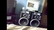 Jamo D - 365 speakers playing Dj Charp Ft