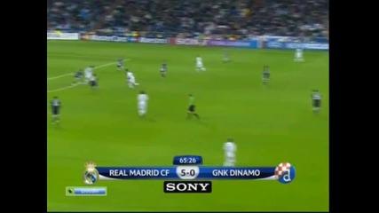 Шампионска лига : Реал Мадрид - Динамо Загреб 6:2