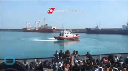 17-year-old Survivor Tells of Panic During Mediterranean Rescue