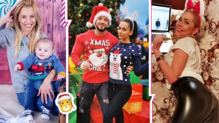 Коледа - Ден и нощ: Как посрещнаха празника любимите ни актьори от сериала?