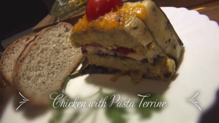 Chicken and Pasta Terrine - Papa`s kitchen recipe