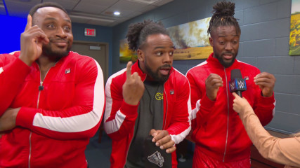 The New Day aren't revealing their Royal Rumble Match strategies: SmackDown LIVE, Jan. 22, 2019