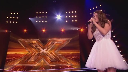 Emily Middlemas sings Ellie Goulding's Anything Could Happen - Boot Camp - The X Factor Uk 2014-1