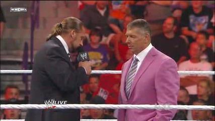 Monday Night Raw Tournament 18/07/11 ; Част 5/5