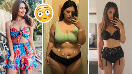 История на Ариана: От 130 кг. момиче , на което се присмиват, до секси модел