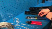 Iwiss Wire Rope Crimping Tools for Aluminum Sleeves