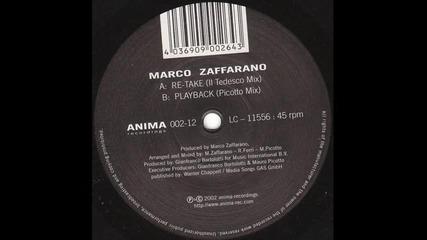 Marco Zaffarano - Re - Take [tedesco Remix]