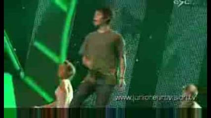 Fyr Macedonia - Bobi Andonov Rehearsal [jesc 2008]