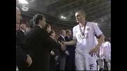 Барселона - Манчестър Юнайтед награждаване на шампиона