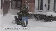 Тежка зима в Америка 5.2.2014