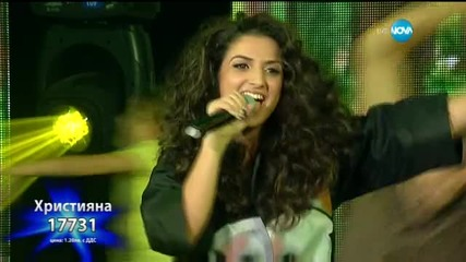 Християна Лоизу - Emotions - X Factor Live (24.11.2015)