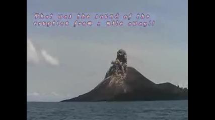 Изригване На Вулкана Кракатуа