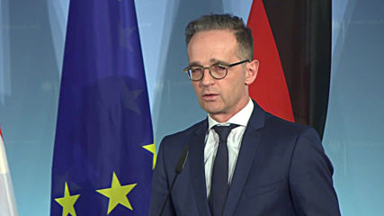Germany: Maas and Austrian FM comment on EU mission to block entry of arms into Libya