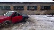 Дрифт в снега
