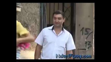 Смях !!! Скрита камера - забрави си прашките