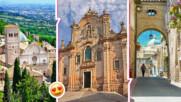 Китното италианско градче Асизи и какво общо има с българското царско семейство