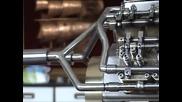 V8 двигател Rc 4 разпределителни вала