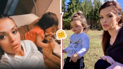 Преслава сподели сладко видео с Паола: Когато играта загрубее