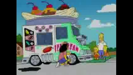 Pimp My Ride & Ali G Meet The Simpsons