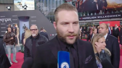 Terminator Genisys Berlin Premiere: Jai Courtney