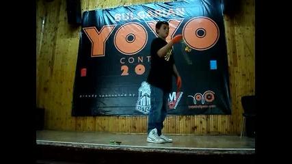 Byyc 2010 - 3 min. freestyle - Пламен Тодоров