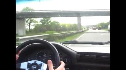 Little Ride in my Bmw E30 325i 1989 Convertible Cabrio