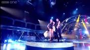 Abbey Clancy & Aljaz- Showdance to Sweet Child O Mine 1