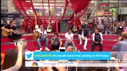 One Direction - Little Things - Today Show