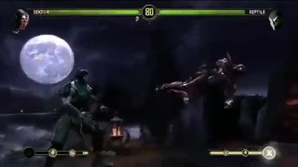 E3 Mortal Kombat 9 Gameplay