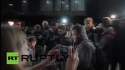 Ukraine: Mayoral candidate Borislav Bereva vote in Ukraine's run-off elections