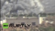 Syria: Assad's forces launch ground offensives near Latakia, in central Syria