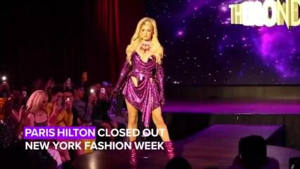 Парис Хилтън закри Нюйоркската седмица на модата