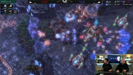 """starcraft 2 коментар: stakiman и Nothx анализират избрани игри - Afk Tv Еп. 15 част 3.2"