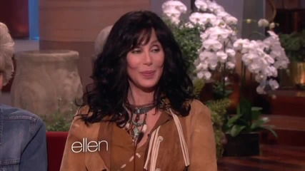Ellen Talks to Cher