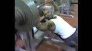 Incline Benchpress 350lb