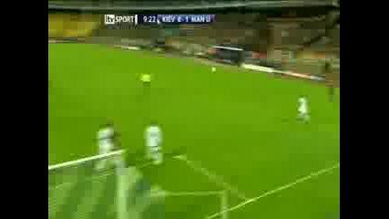 Д.Киев - Манчестър Юнайтед 0 - 1 ( Фърдинант )