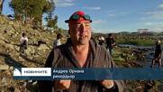 Италианец постави нов рекорд по плуване в езерото Титикака