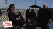Кечмания 29 Дневник - Aj Lee & Dolph Ziggler пристигат на Metlife Stadium