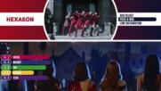 Red Velvet - Peek-a-boo Line Distribution Color Coded -