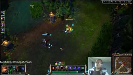 League of Legends игра с Leona Ranked 4