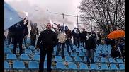 Радостта на феновете на Дунав при гола на Раденцов срещу Калиакра
