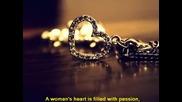 Превод / Chris De Burgh - A Womans Heart