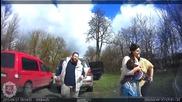 Полицаи остават шокирани от действията на шофьор, който се опитват да спрат