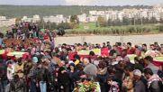 Syria: Tears, flowers as Afrin buries 21 more victims
