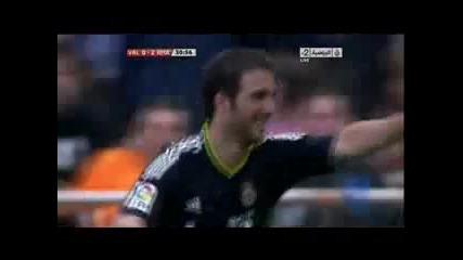 23.04.2011 Валенсия 0-2 Реал Мадрид първи гол на Гонсало Игуаин